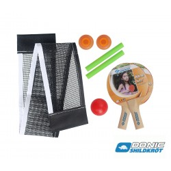 Donic Schildkröt Mini Bat & Ball & Net set