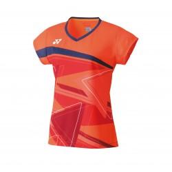 Yonex tournament damesshirt - oranje - 20521