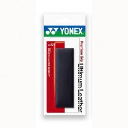 Yonex AC221 Premium leren grip | zwart | premium