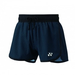 Yonex Women short 25027 | zwart/blauw